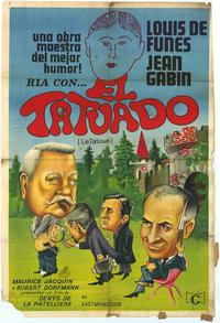 The Tatooed One - 27 x 40 Movie Poster - Spanish Style A