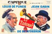 The Tattooed One - 27 x 40 Movie Poster - Belgian Style A