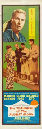 The Teahouse of the August Moon - 14 x 36 Movie Poster - Insert Style A