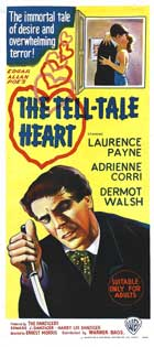 The Tell-Tale Heart - 14 x 36 Movie Poster - Insert Style A