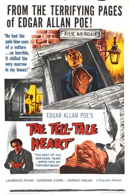 The Tell-Tale Heart - 11 x 17 Movie Poster - Style E
