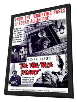 The Tell-Tale Heart - 11 x 17 Movie Poster - Style A - in Deluxe Wood Frame