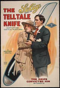 The Telltale Knife - 11 x 17 Movie Poster - Style A