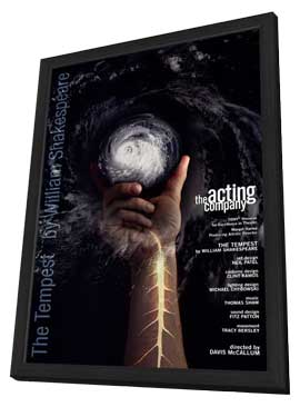 The Tempest (Broadway) - 11 x 17 Poster - Style A - in Deluxe Wood Frame