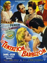 The Temptation of Barbizon - 11 x 17 Movie Poster - French Style A
