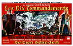 The Ten Commandments - 11 x 17 Movie Poster - Belgian Style A