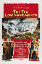 The Ten Commandments - 27 x 40 Movie Poster - Style C