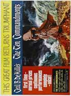 The Ten Commandments - 11 x 17 Movie Poster - Style D