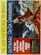 The Ten Commandments - 27 x 40 Movie Poster - Style D