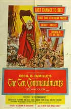 The Ten Commandments - 11 x 17 Movie Poster - Style E