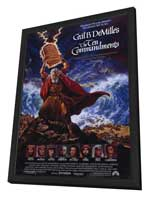The Ten Commandments - 11 x 17 Movie Poster - Style A - in Deluxe Wood Frame