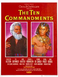 The Ten Commandments - 11 x 17 Movie Poster - Style C