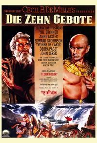 The Ten Commandments - 27 x 40 Movie Poster - Style A