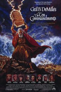 The Ten Commandments - 11 x 17 Movie Poster - Style A - Museum Wrapped Canvas