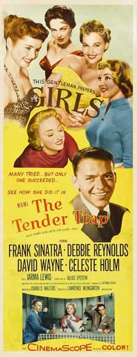 The Tender Trap - 14 x 36 Movie Poster - Insert Style A