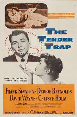 The Tender Trap - 11 x 17 Movie Poster - Style C