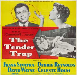The Tender Trap - 13 x 30 Movie Poster - Australian Style A