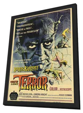 Terror, The - 11 x 17 Movie Poster - Style A - in Deluxe Wood Frame