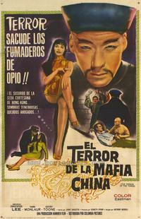 The Terror of the Tongs - 27 x 40 Movie Poster - Italian Style A