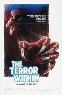 The Terror Within - 27 x 40 Movie Poster - Style B