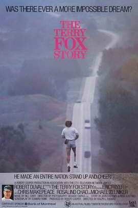 The Terry Fox Story - 11 x 17 Movie Poster - Style A
