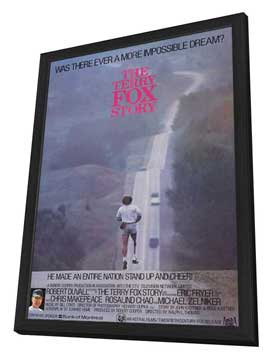 The Terry Fox Story - 11 x 17 Movie Poster - Style A - in Deluxe Wood Frame