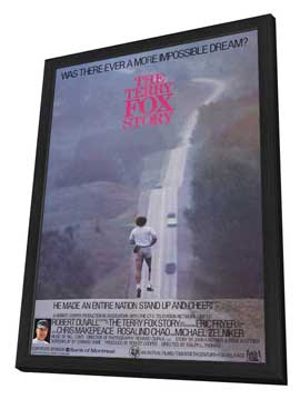 The Terry Fox Story - 27 x 40 Movie Poster - Style A - in Deluxe Wood Frame