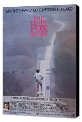 The Terry Fox Story - 27 x 40 Movie Poster - Style A - Museum Wrapped Canvas