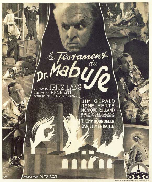The Testament Of Dr Mabuse Movie Posters From Movie