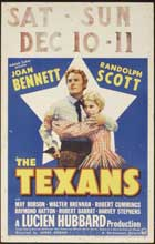 The Texans - 11 x 17 Movie Poster - Style E