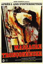 The Texas Chainsaw Massacre - 27 x 40 Movie Poster - French Style A