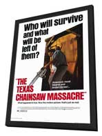 The Texas Chainsaw Massacre - 11 x 17 Movie Poster - Style A - in Deluxe Wood Frame