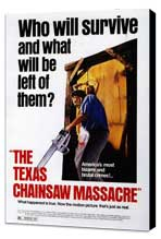 The Texas Chainsaw Massacre - 27 x 40 Movie Poster - Style A - Museum Wrapped Canvas