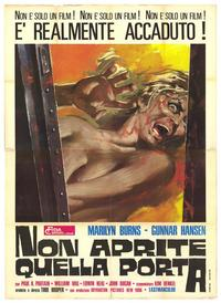 The Texas Chainsaw Massacre - 27 x 40 Movie Poster - Italian Style A