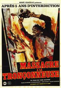 The Texas Chainsaw Massacre - 47 x 62 Movie Poster - French Style A