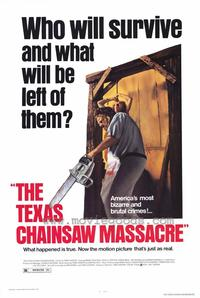 The Texas Chainsaw Massacre - Music Poster - 24 x 36 - Style A