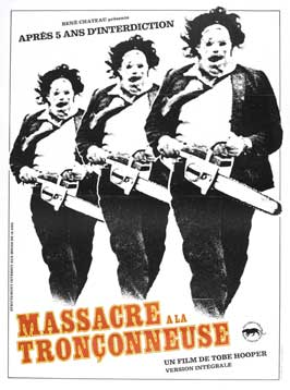The Texas Chainsaw Massacre - 27 x 40 Movie Poster - French Style B