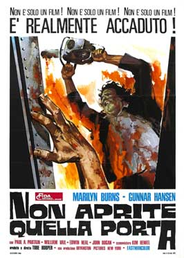 The Texas Chainsaw Massacre - 11 x 17 Movie Poster - Italian Style A