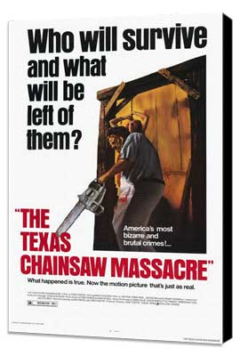 The Texas Chainsaw Massacre - 11 x 17 Movie Poster - Style A - Museum Wrapped Canvas