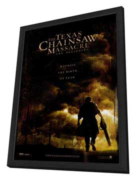 The Texas Chainsaw Massacre: The Beginning - 27 x 40 Movie Poster - Style A - in Deluxe Wood Frame