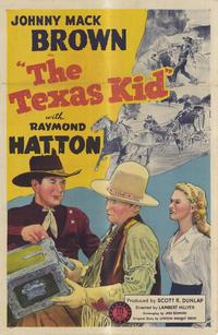 The Texas Kid - 27 x 40 Movie Poster - Style A