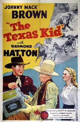 The Texas Kid - 11 x 17 Movie Poster - Style B