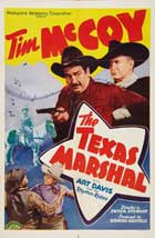 The Texas Marshal - 11 x 17 Movie Poster - Style A