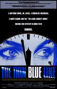 The Thin Blue Line - 11 x 17 Movie Poster - Style A