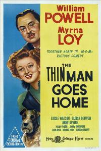 The Thin Man Goes Home - 27 x 40 Movie Poster - Australian Style A