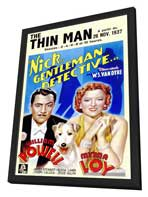 The Thin Man - 11 x 17 Movie Poster - Style C - in Deluxe Wood Frame