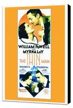 The Thin Man - 27 x 40 Movie Poster - Style A - Museum Wrapped Canvas
