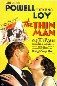The Thin Man - 11 x 17 Movie Poster - Style B
