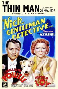 The Thin Man - 11 x 17 Movie Poster - Style C
