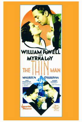 The Thin Man - 27 x 40 Movie Poster - Style A
